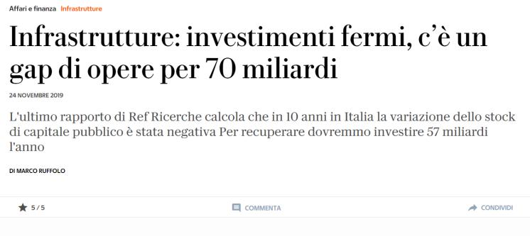 investimento 57 miliardi